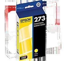 Brand New Original EPSON T273420 (T273) INK / INKJET Cartridge Yellow