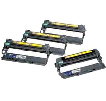 BROTHER DR210CL Laser DRUM UNITS Black Cyan Yellow Magenta