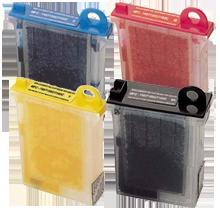 Brother LC02 Ink Cartridge Set Black Cyan Yellow Magenta