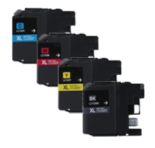 Brand New Compatible BROTHER LC103 INK / INKJET Cartridge SET Black Cyan Yellow Magenta
