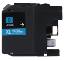 Brand New Compatible BROTHER LC103C INK / INKJET Cartridge Cyan