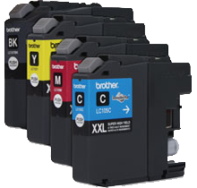 Brand New Compatible BROTHER LC105 / LC107 INK / INKJET Cartridge SET Black Cyan Yellow Magenta