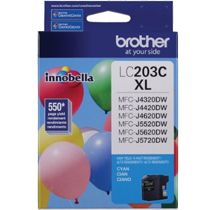 Brand New Original BROTHER INK LC203C INK / INKJET Cyan