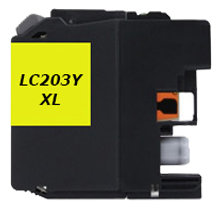 BROTHER LC203Y-XL INK / INKJET High Yield Cartridge Yellow