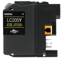 Brother LC205Y-XXL INK / INKJET Extra High Yield Cartridge Yellow