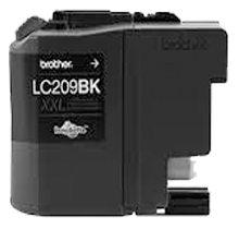 BROTHER LC209BK-XXL INK / INKJET Extra High Yield Cartridge Black