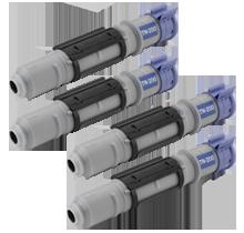 Brother TN200 x4 Laser Toner Cartridges