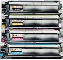 Brother TN210 Laser Toner Cartridge Set Black Cyan Yellow Magenta