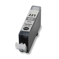 CANON CLI-221GY INK / INKJET Cartridge Grey (With Chip)