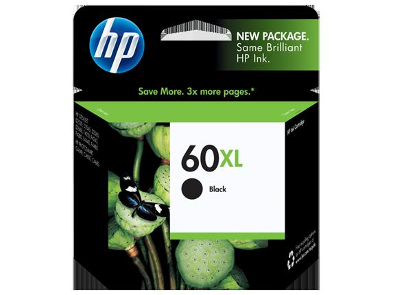 Brand New Original HP CC641WN HP 60XL Black High Yield Ink Cartridg