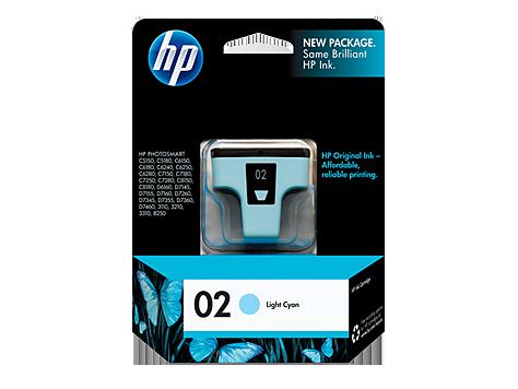 HP C8774WN (02) INK / INKJET Cartridge Light Cyan