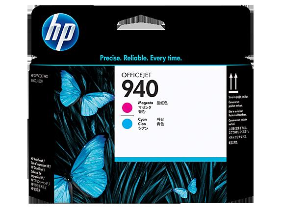 Brand New Original HP C4901A HP 940 Printhead Magenta / Cyan