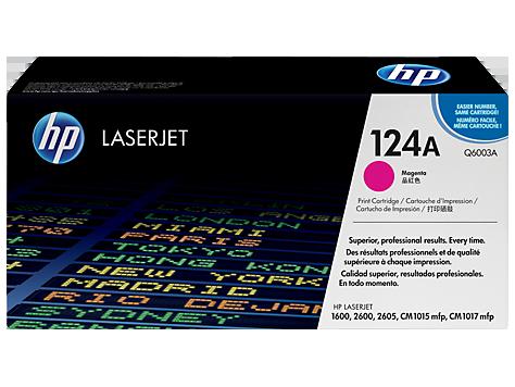Brand New Original HP Q6003A Laser Toner Cartridge Magenta