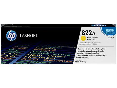 Original HP C8552A Laser Toner Cartridge Yellow