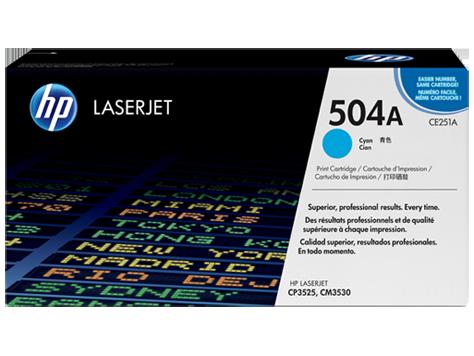 ~Brand New Original HP CE251A Laser Toner Cartridge Cyan