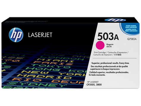 ~Brand New Original HP Q7583A Laser Toner Cartridge Magenta