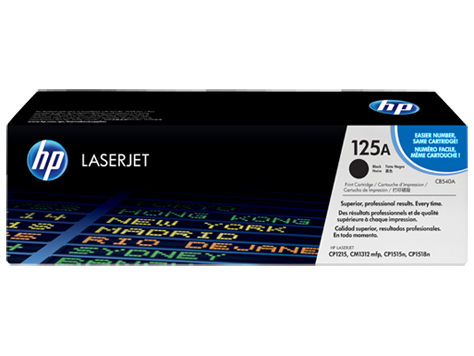 Brand New Original HP CB540A Laser Toner Cartridge Black