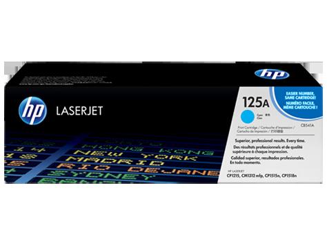 Brand New Original HP CB541A Laser Toner Cartridge Cyan