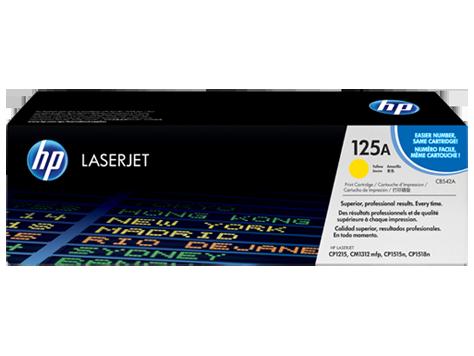 ~Brand New Original HP CB542A Laser Toner Cartridge Yellow