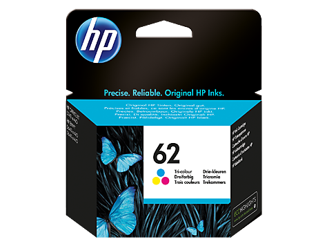 HP C2P06AN (62) INK / INKJET Cartridge Tri-Color