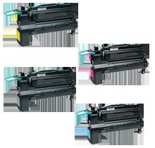 Lexmark C792 Laser Toner Cartridge Extra High Yield Set Black Cyan Magenta Yellow