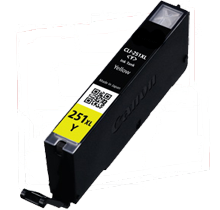 CANON CLI-251XL-Y INK / INKJET High Yield Cartridge Yellow