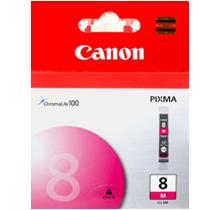 Brand New Original Canon CLI-8M 0622B002AA Magenta Ink / Inkjet Cartridge