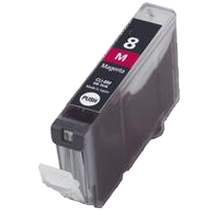 CANON CLI8M Chip INK / INKJET Cartridge Magenta (With Chip)