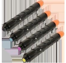 CANON GPR-31 Laser Toner Cartridge Set Black Cyan Magenta Yellow