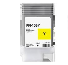 CANON PFI-106Y INK / INKJET Cartridge Yellow