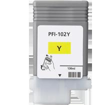 CANON PFI-102Y INK / INKJET Cartridge Yellow