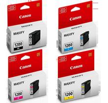 ~Original Brand New CANON PGI-1200 Set INK / INKJET Cartridge Black Yellow Magenta Cyan