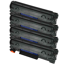 PACK of 4-HP CE278A Laser Toner Cartridge