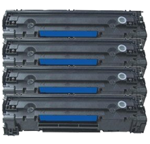 PACK of 4-HP CE285A HP85A Laser Toner Cartridge