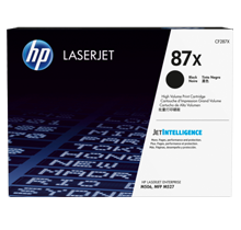 ~Brand New Original HP CF287X (#87X) High Yield Laser Toner Cartridge Black