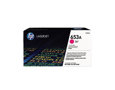 Brand New Original HP CF323A (653A) Laser Toner Cartridge Magenta