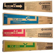 ~Brand New Original COPYSTAR TK-899Y Laser Toner Cartridge Black Cyan Magenta Yellow