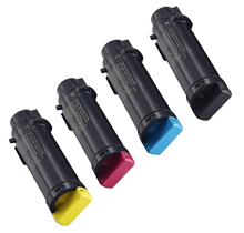 DELL H625 / H825 Laser Toner Cartridge Set Black Cyan Magenta Yellow