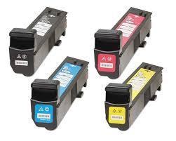 HP CM6040 / CP6015 Laser Toner Cartridge Set Black Cyan Yellow Magenta