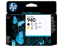 Brand New Original HP C4900A HP 940 Printhead Black / Yellow