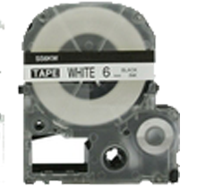 EPSON SS6KW (LC-2WBN) Label Tape Maker Black on White