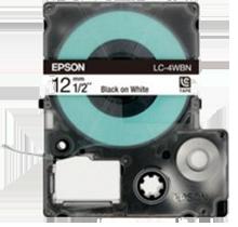 EPSON SS12KW (LC-4WBN) Label Tape Maker Black on White