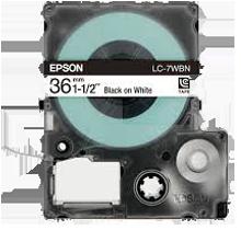 EPSON SS36KW (LC-7WBN) Label Tape Maker Black on White