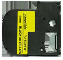EPSON SC9YW (LC-3YBW) Label Tape Maker Black on Yellow
