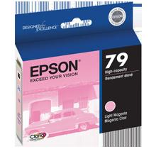 ~Brand New Original EPSON T079620 INK / INKJET Cartridge Light Magenta