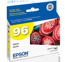 ~Brand New Original EPSON T096420 UltraChrome K3 INK / INKJET Cartridge Yellow