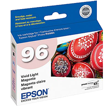 ~Brand New Original EPSON T096620 UltraChrome K3 INK / INKJET Cartridge Vivid Light Magenta