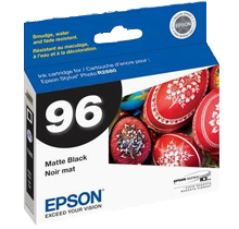 ~Brand New Original EPSON T096820 UltraChrome K3 INK / INKJET Cartridge Matte Black