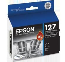 ~Brand New Original EPSON T127120 Extra High Yield INK / INKJET Cartridge Black