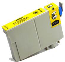 EPSON T127420 Extra High Yield INK / INKJET Cartridge Yellow